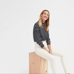 Everlane White Ankle Jeans High Rise Size 27